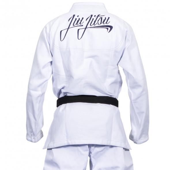 Kimono JJB Dragon Bleu - Blanc
