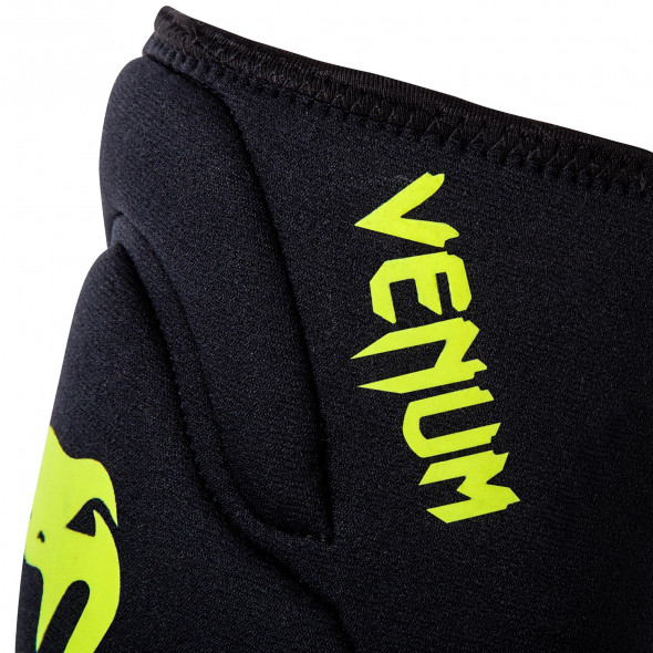 Venum Kontact Gel Knee Pad - Black/Neo Yellow