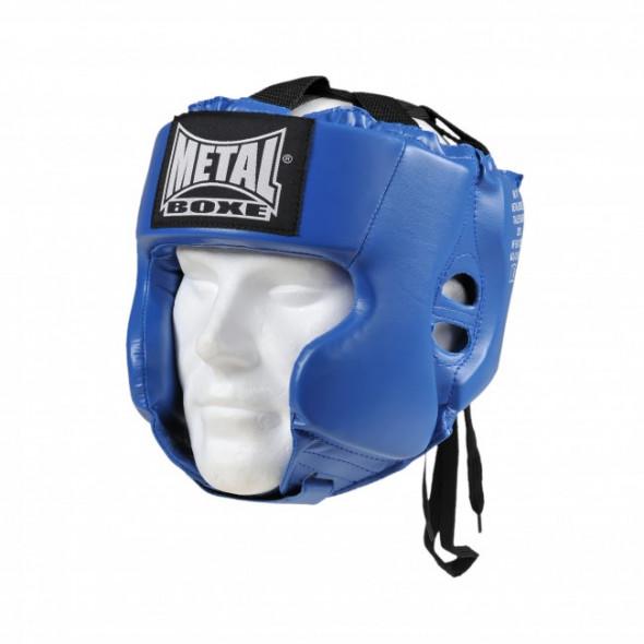 Casque d'entrainement Metal Boxe Multiboxe Bleu