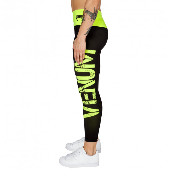 Venum Power Leggings - Neo Yellow/Black - For Women
