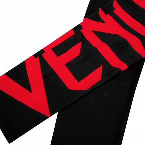 Venum Giant Leggings Crops - Black/Red