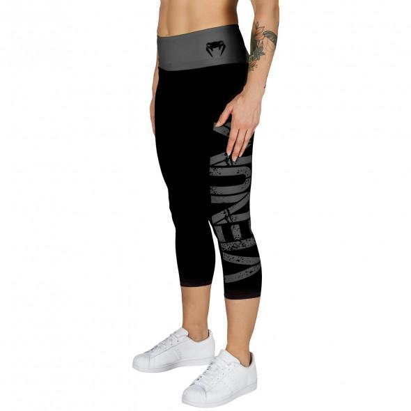 Venum Power Leggings Crops - Grey/Black - For Women