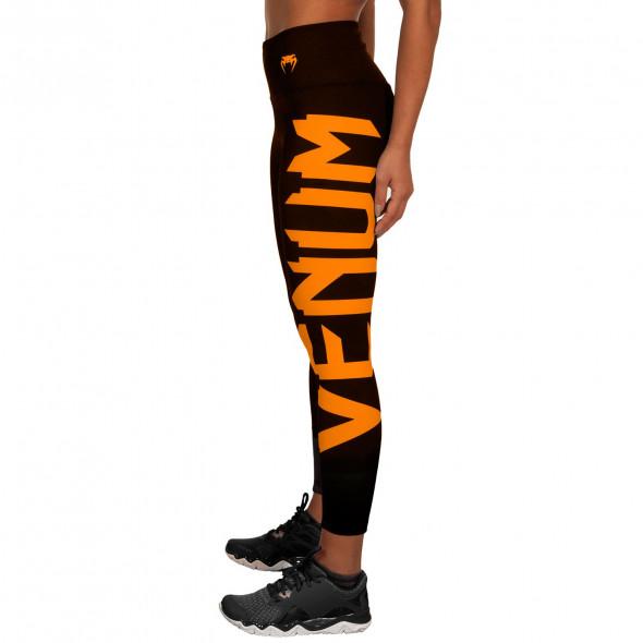 Venum Giant Leggings - Black/Corail - For Women