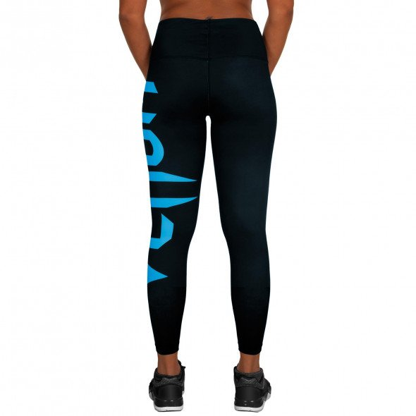 Venum Giant Leggings - Black/Cyan - For Women