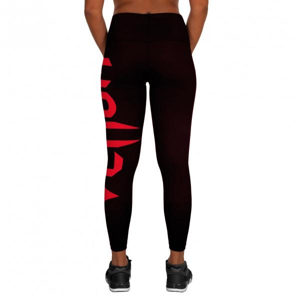 Venum Giant Leggings - Black/Red - For Women