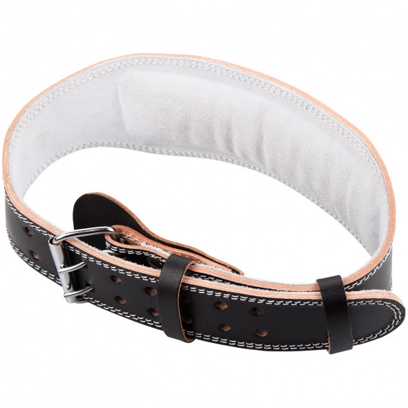 Venum Hyperlift Leather Lifting Belt - Black