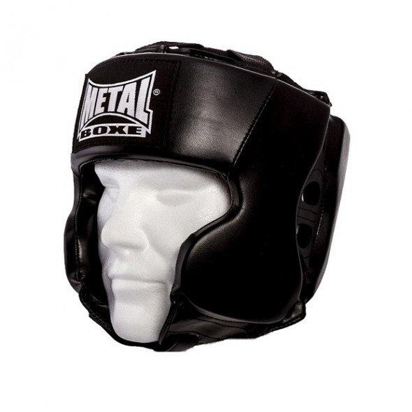 Metal Boxe Helmet child - Black