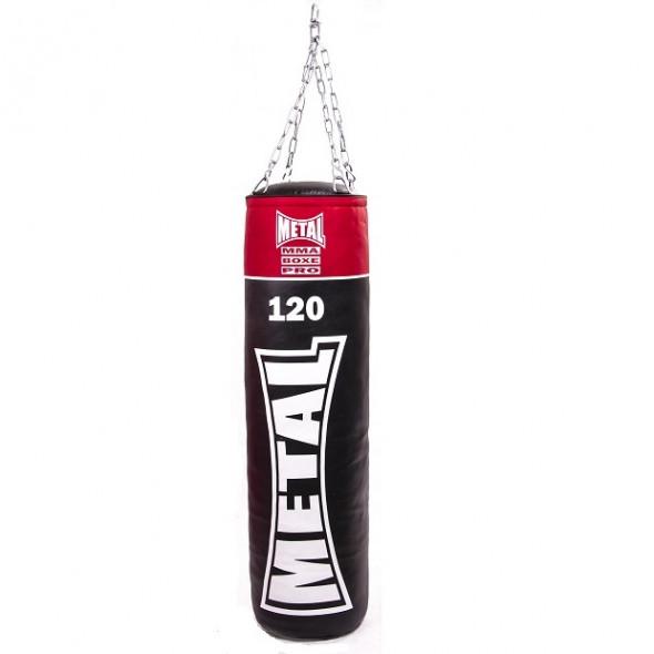 Metal Boxe  Punching Bag PU 120 cm Full