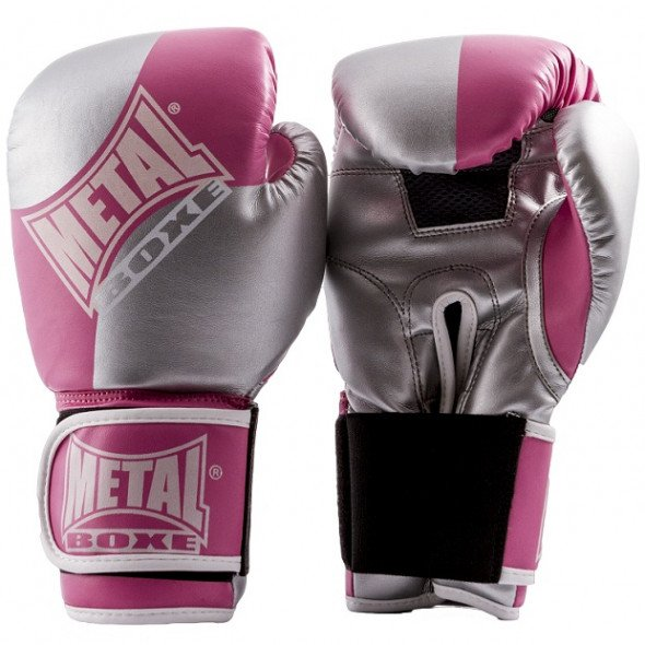 Metal Boxe Boxing gloves fitness  – Pink