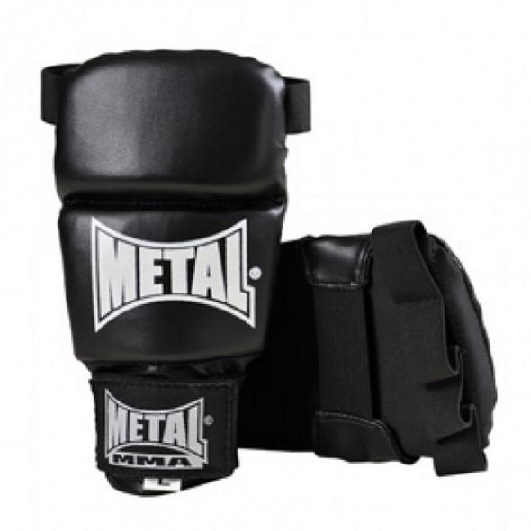 Gants Metal Boxe Prima MMA - Black