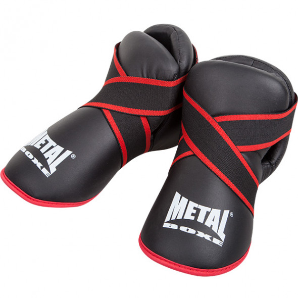 Metal Boxe  Step pads Full Contact - Black