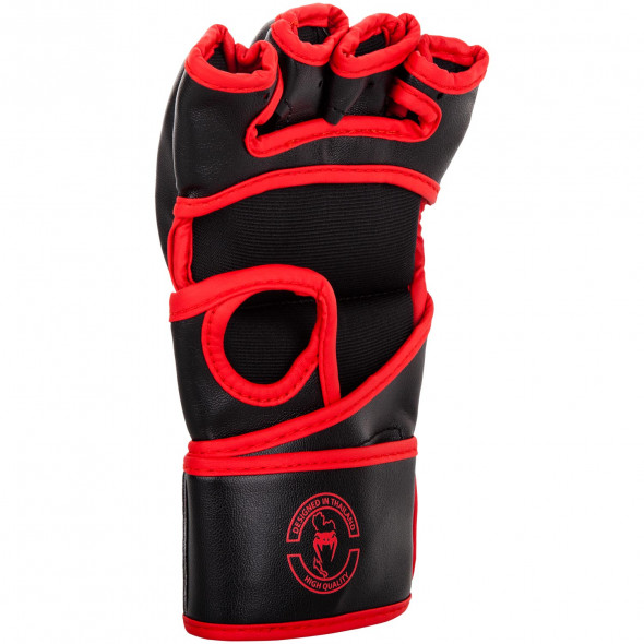 Venum Challenger MMA Gloves - Without Thumb - Black/Red - Exclusive