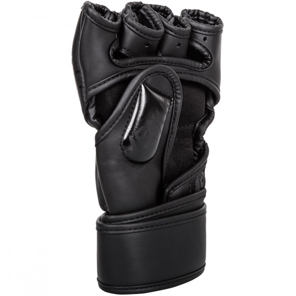 Venum Undisputed 2.0 MMA Gloves Semi Leather-Matte/Black