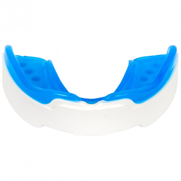Protège-dents Dragon Bleu-Blanc/Bleu