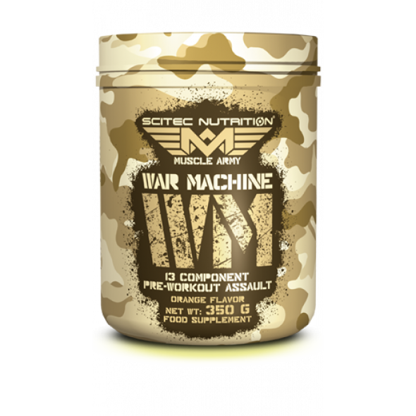 War Machine Scitec Nutrition - 350 g - Orange