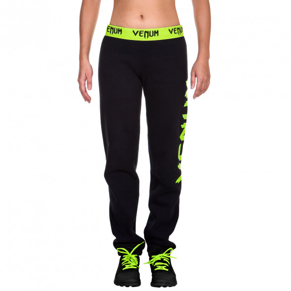 Venum Infinity Pants - Black/Neo Yellow - For Women
