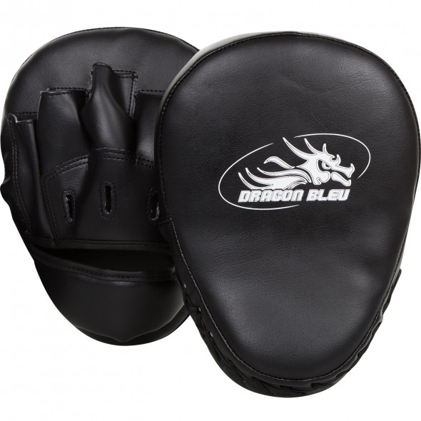 Curved kick pads Dragon - Black