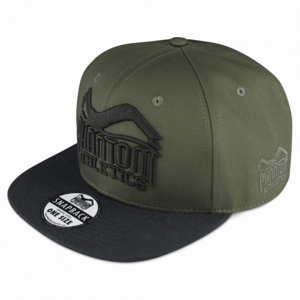 Phantom Team  Cap - Black Croco