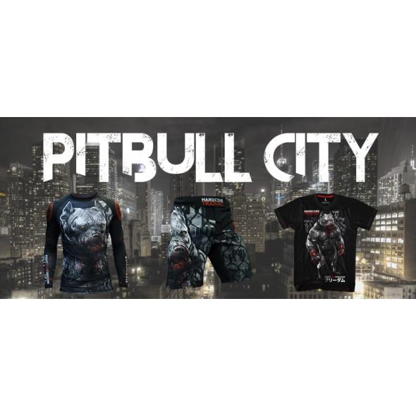 Fightshort Hardcore Wear Pitbull City