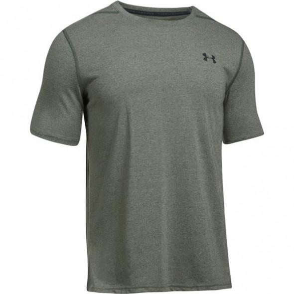 T-shirt Under Armour Threaborne Fitted - Kaki