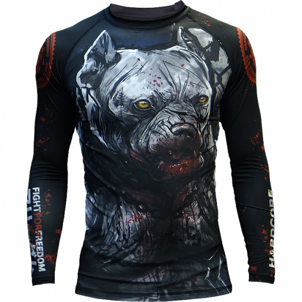Rashguard Hardcore Wear Pitbull City
