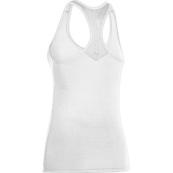 "Under Armour ""Victory II"" White Tank Top"