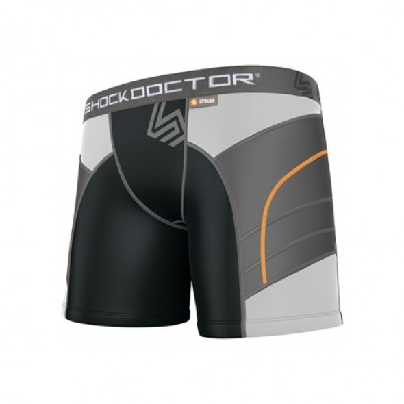 """Shock doctor Women Short """"Double Compression""""  + pelvic protector"""
