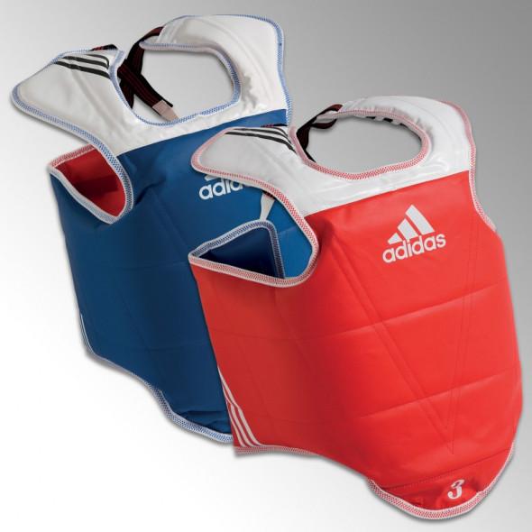 Plastron d'entraînement & compétition Adidas - Réversible - Approuvé WT