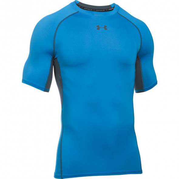 T-shirt Compression Under Armour HeatGear® Armour - Blue