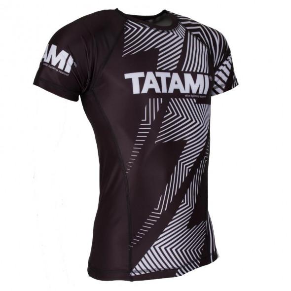 Rashguard IBJJF Tatami Fightwear - Manches courtes - Blanc