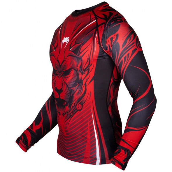 Venum Bloody Roar Rashguard - Long Sleeves - Red