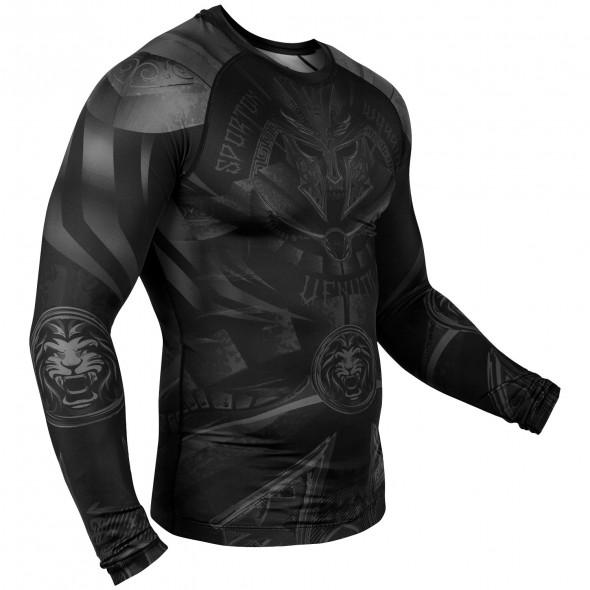 Venum Gladiator 3.0 Rashguard - Long Sleeves - Black/Black