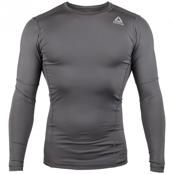 T-shirt de compression Reebok Workout Ready - Manches longues