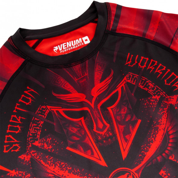 Venum Gladiator 3.0 Red Devil Rashguard - Black/Red - Short Sleeves