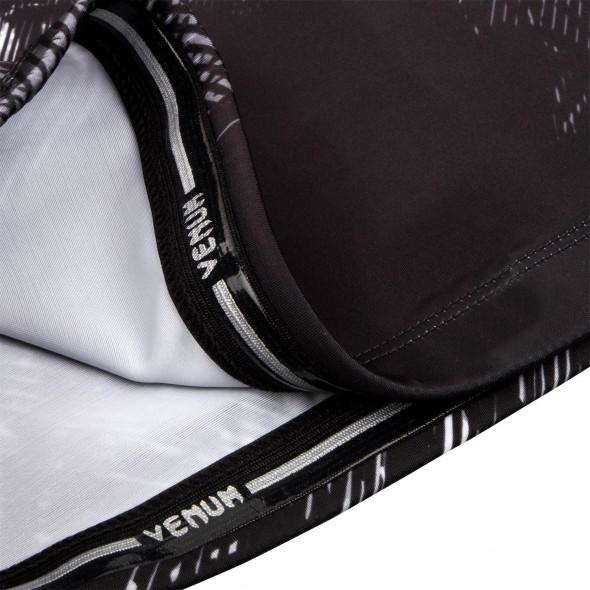 Venum Santa Muerte 3.0 Rashguard - Short Sleeves - Black/White