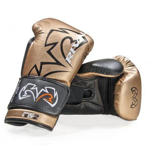 Gants de Boxe Rival Evolution Sparring - Or