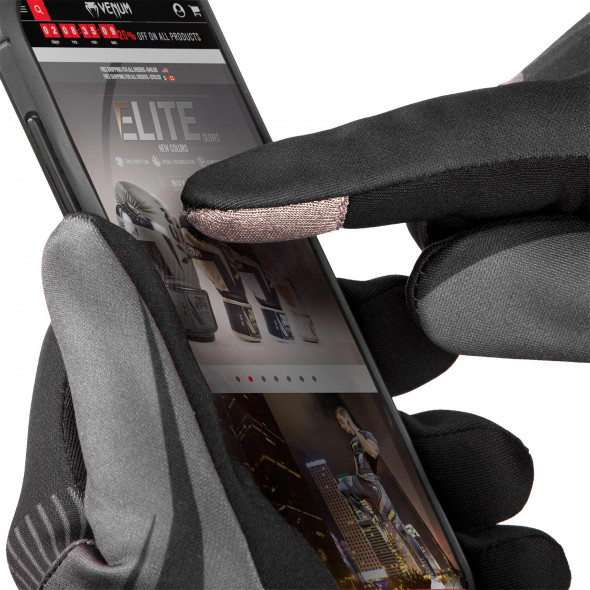 Venum Runner Gloves - Black/Grey