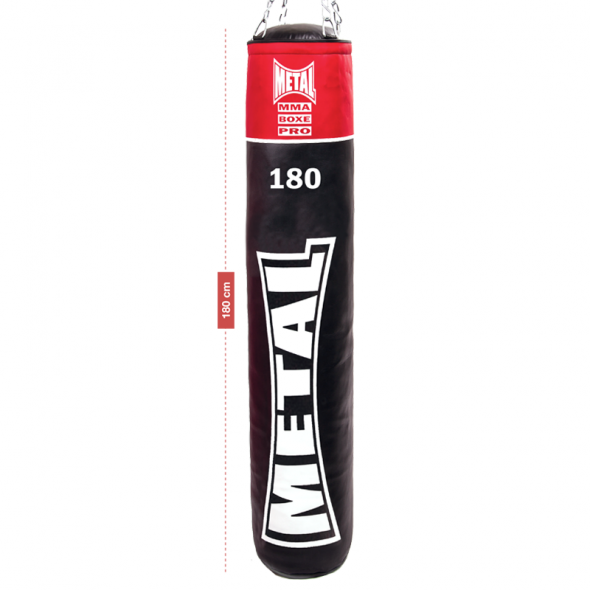 Metal Boxe Punching bag  PU 180 cm Full