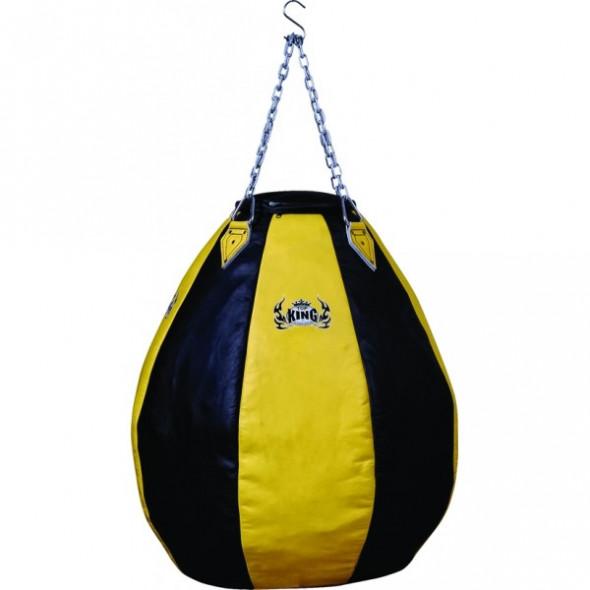 Top King Heavy punching bag – Yellow/Black