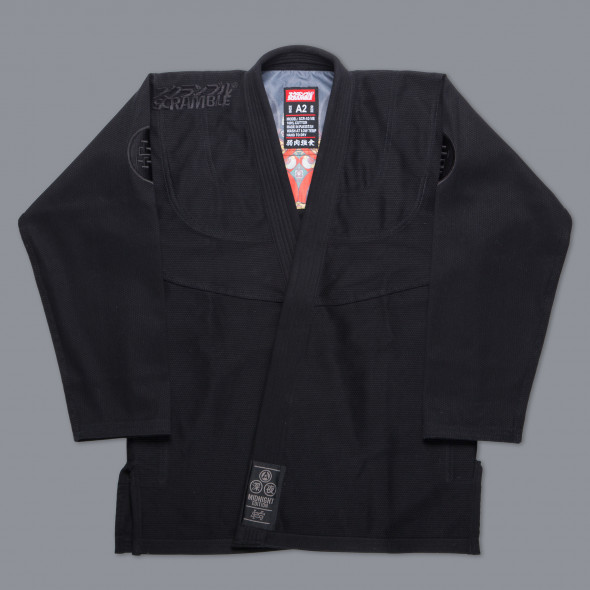Kimono de JJB Scramble Athlete 3 - Midnight Edition - Noir