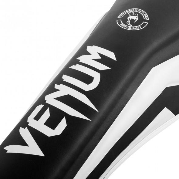 Venum Elite Standup Shinguards - Black/White