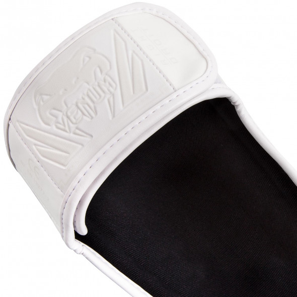 Venum Elite Standup Shinguards - White/White