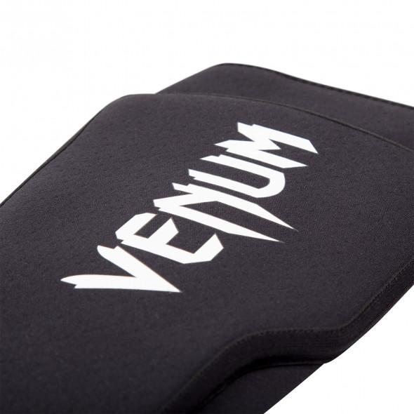 Venum Kontact Evo Shinguards - Black