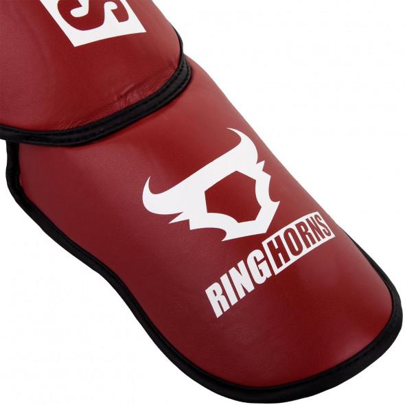 Ringhorns Charger Shinguards Insteps - Red