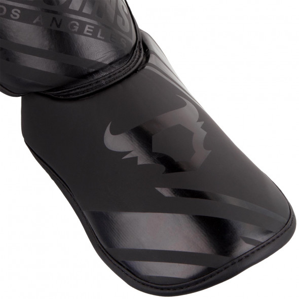Ringhorns Nitro Shinguards Insteps - Black/Black