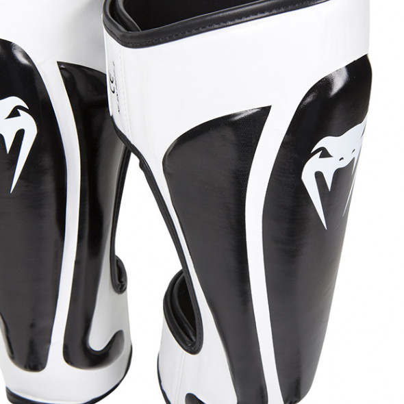 Venum Predator Standup Shinguards - Black/Ice