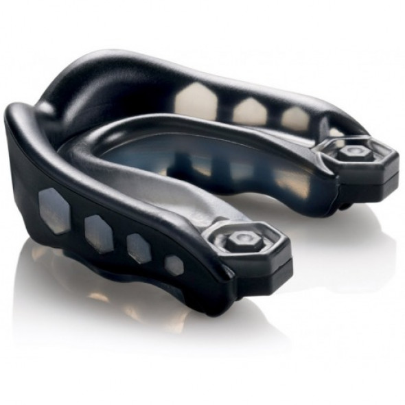 """Simple Mouth guard Shock Doctor """"Gel Max"""" - Adult-Black"""
