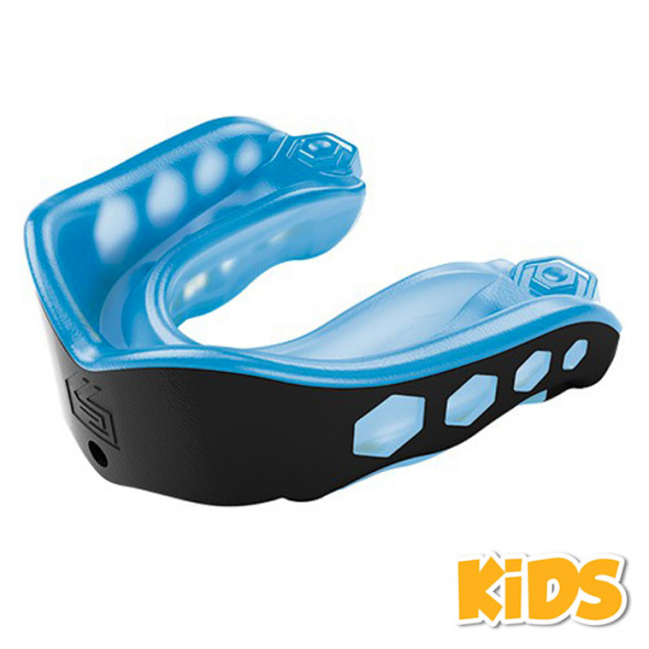 """Simple Mouth guard Shock Doctor """"Gel Max"""" - Adult-Blue"""