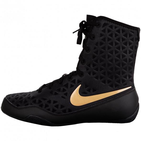 Chaussures de boxe Nike KO - Noir/Or