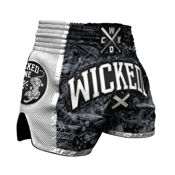 Short Muay thai Wicked One Born to Resist